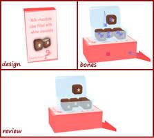 [MMD] Chocolate Cubes Box by RinYukaita