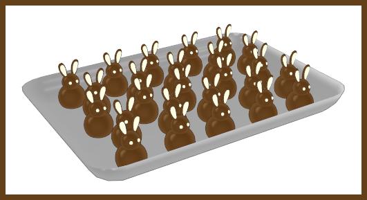 [MMD] Chocolate Bunnies by RinYukaita