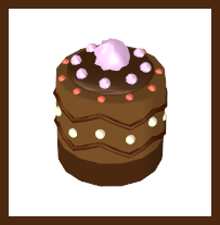 [MMD] Chocolate Mini Cake by RinYukaita