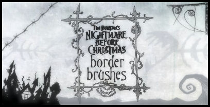 TNBC Border Brushes by ForestFairy