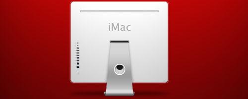 iMac G5 Back
