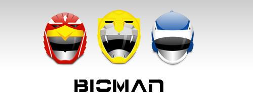 Bioman by ninio1985