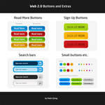 Web 2.0 Graphics - Free .PSD