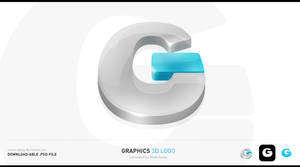 Graphics 3D Logo .PSD-file