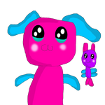 Blueberry the Bunny with her fairie Animation