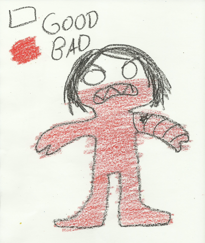 Badness Level (Bucky x Child! Reader) by KOREAlchemist on