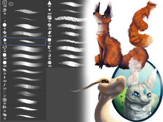 May 27, 2017 Main Brushes by QueenGalaxy