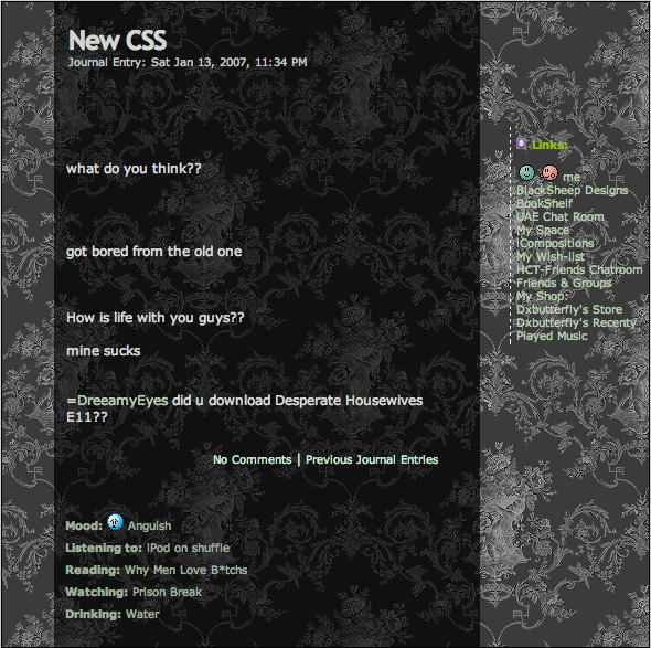 Gray CSS by DxButterfly
