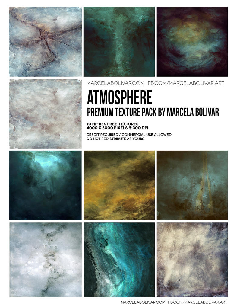 Texturenpaket Atmosphere