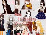 10 renders anime