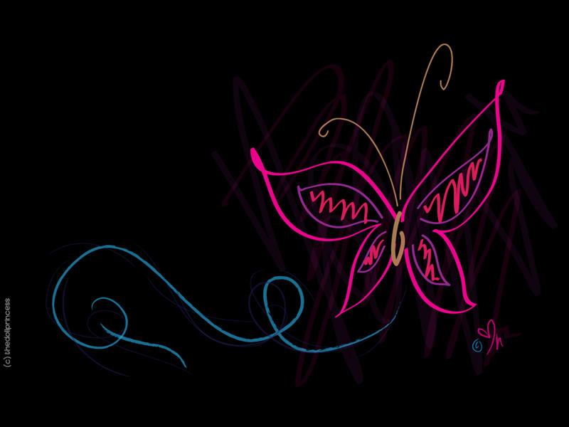 Butterfly Wallpaper By Thedollprincess