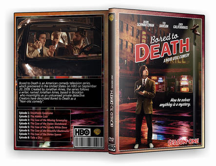 Bored to Death HBO Season 1 by morfeuss