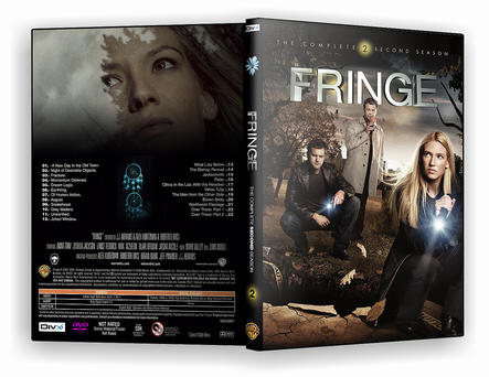 Fringe Season 2 DVD Cover by morfeuss