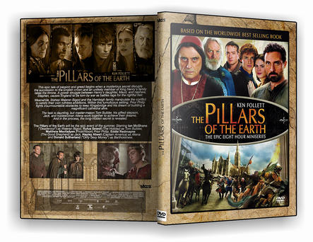 Pillars of the Earth DVD Cover by morfeuss