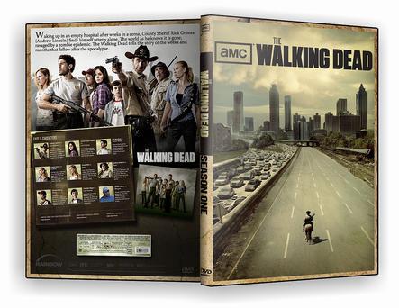 Walking Dead DVD Cover Season1 by morfeuss