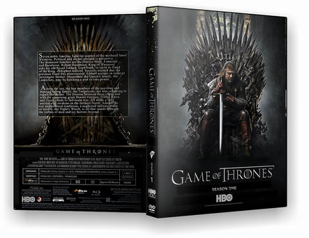 Game of Thrones Season One DVD by morfeuss