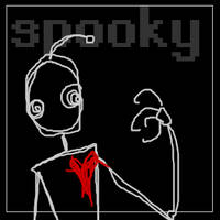 Spooky the Robot by poofmongoose
