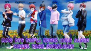 MMD BTS Spring Day Model Pack DL!
