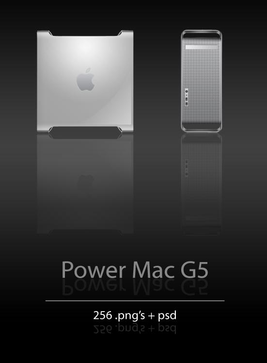 Power Mac G5 Icons by User-DA