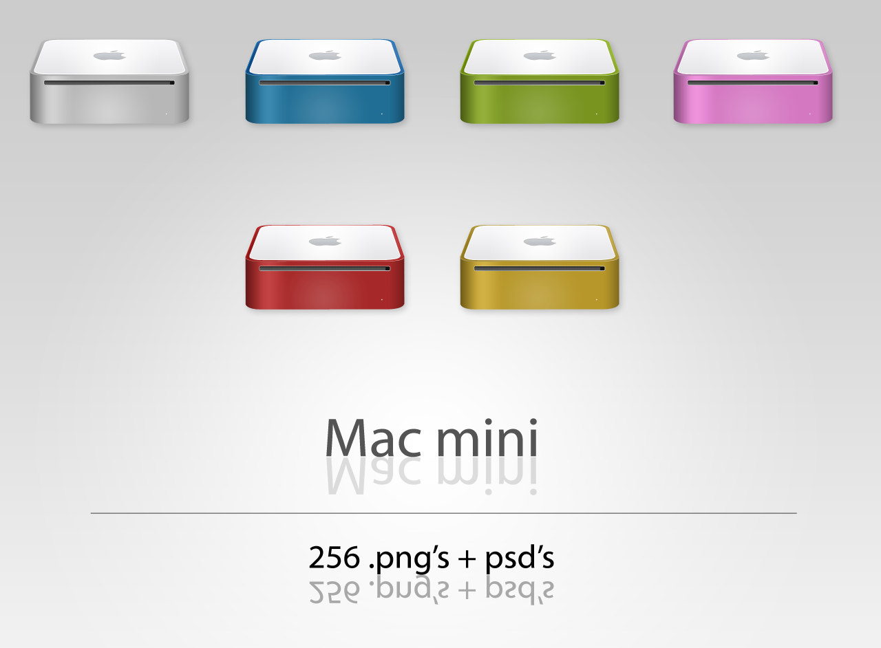 Mac mini Dock Icons by User-DA