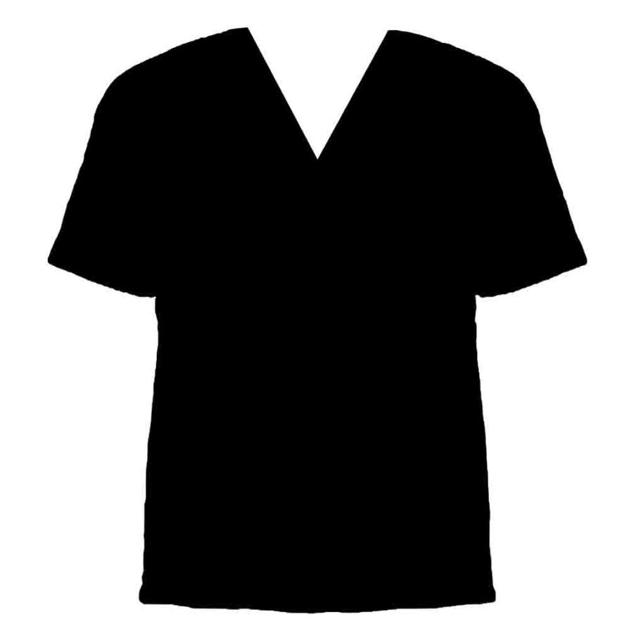 Black t shirt vector photoshop - V Neck Shirt Template By V Neck Shirt Design Template