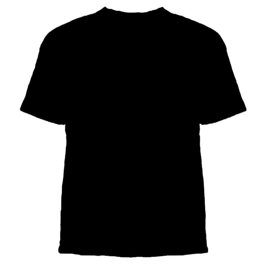 Crew neck t shirt template by castawayclothing