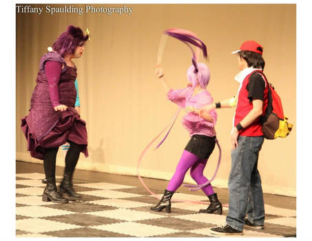 Red and Espeon Cosplay