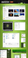 Clearscreen Sharp for Windows7