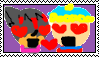 PrincessElizabeth013 X Cartman Stamp by xXSweet-PotatoXx