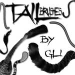 tail brushes