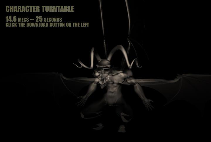 Demon turntable by Nic-animator