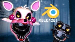 FNaF The Fourth Closet- Mangle Release!
