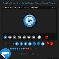 Deleket Buttons for MPC-HC