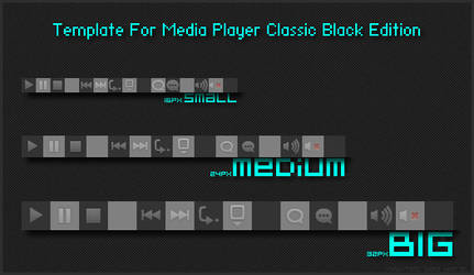 Toolbar Template for MPC-BE