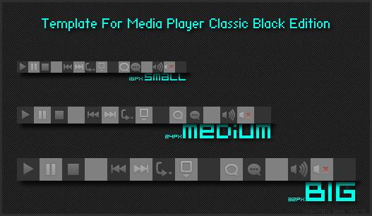 media player classic black edition skin
