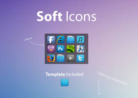 Soft Icons by NomNuggetNom