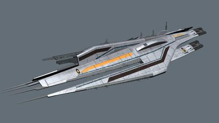 Cerberus Cruiser 3d Model Free by reis1989