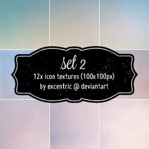 icon textures: set 2 by excentric