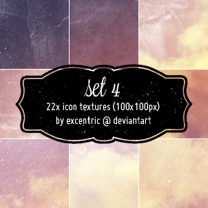 icon textures: set 4 by excentric