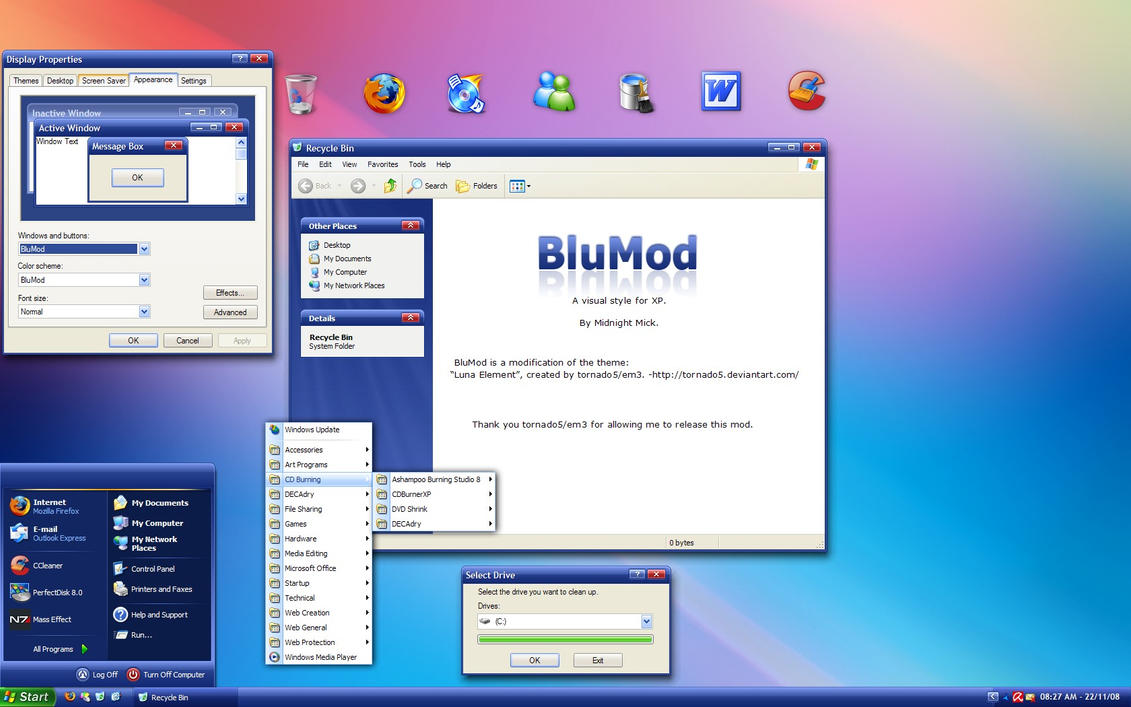 BluMod by Midnight-Mick