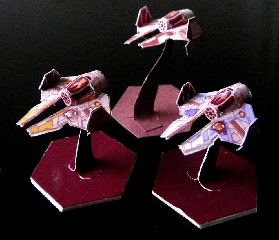 Jedi Interceptors by Scarecrovv
