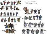 Space1889 Paper Minis