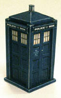 TARDIS paper model by Scarecrovv