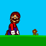 Super Mario Bros. Animation 01 by DogmanSP