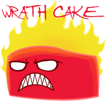 Sin Cakes emoticons: Wrath Cake by Chocoreaper