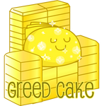 Sin Cakes emoticons: Greed Cake
