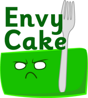 Sin Cakes emoticons: Envy Cake by Chocoreaper
