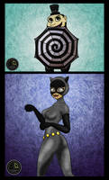 Catwoman V The Penguin Classic