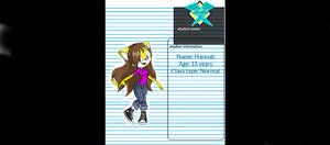 Mobius High character sheet