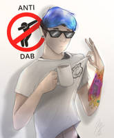 Dab Police. with Tattoos by oops5005